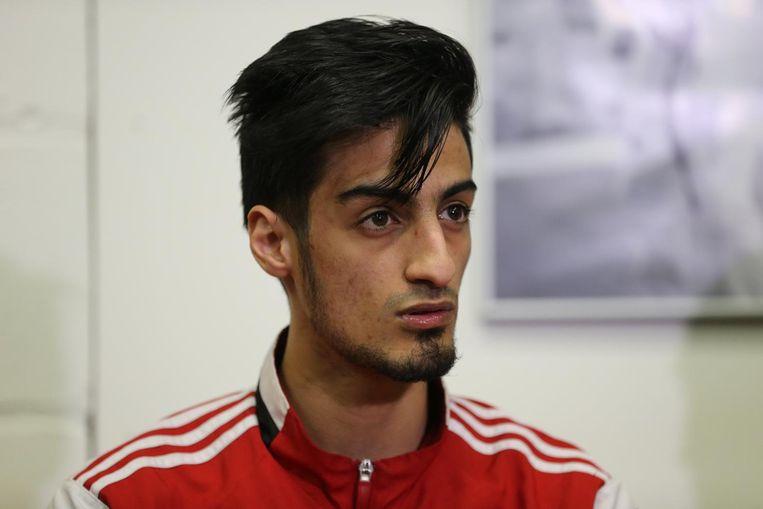 Mourad Laachraoui, broer van één van de aanslagplegers in Brussel. Beeld belga