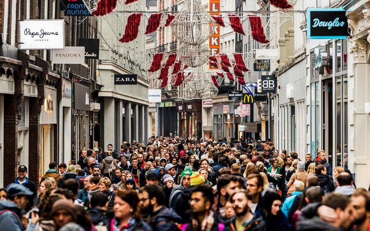 Winkels zijn vaak slachtoffer van 'mobiel banditisme'. Beeld ANP/Remko de Waal