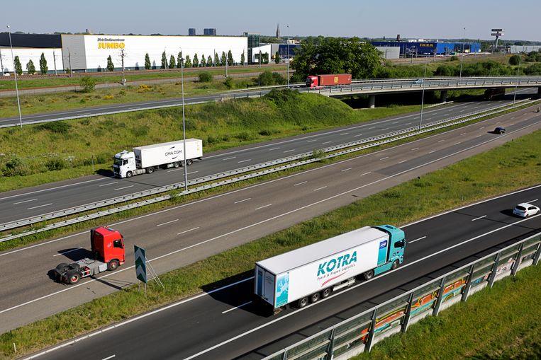 Transportbedrijven die samen de CO2-uitstoot willen terugdringen, hebben de zegen van de ACM. Beeld Hollandse Hoogte / Nederlandse Freelancers