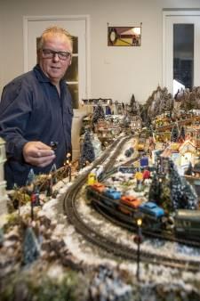 'Burgemeester' miniatuur kerstdorp Tubbergen plots overleden