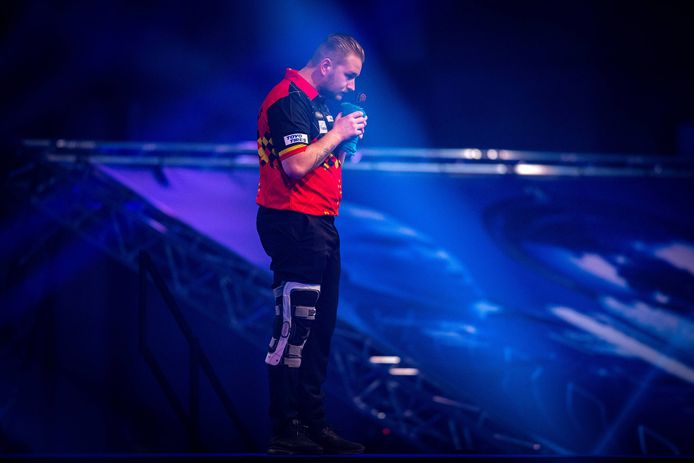 Dimitri Van den Bergh verloor gisteren in de achtste finales.