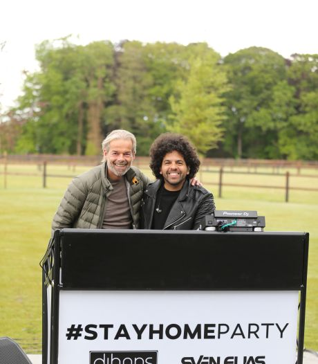 Laatste #Stayhomeparty van dj's Hans Aink en Sven Elias in Grolsch Veste