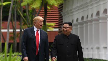 """Trump ontvangt """"erg vriendelijke"""" verjaardagswensen van Kim Jong-un"""