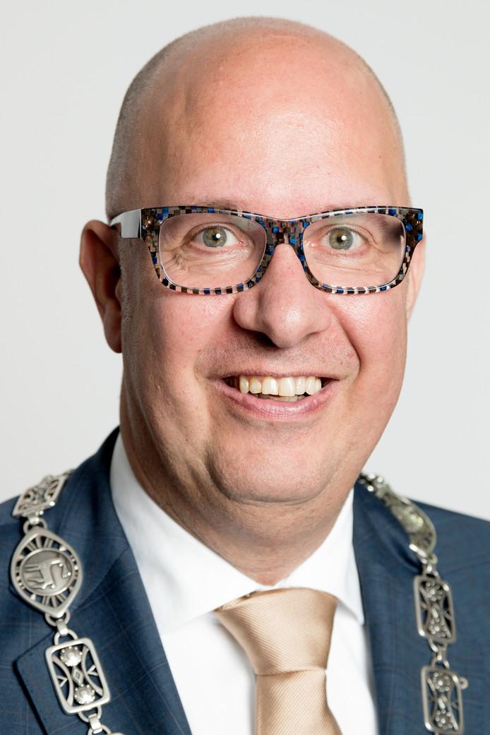 Burgemeester Jack Mikkers.