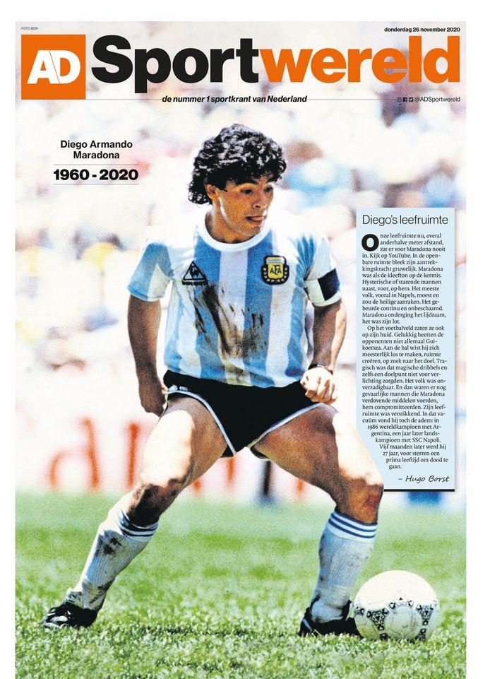 De cover van AD Sportwereld