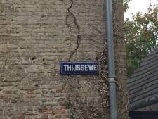 Straatnaambordje Thijsse of Thijssen, dat is de vraag in Hooge Zwaluwe