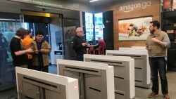 Amazon wil 3.000 kassaloze supermarkten