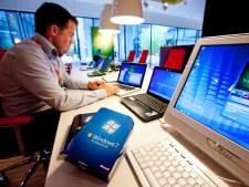 Zeker zes gemeenten in deze regio werken nog met verouderd, risicovolle Windows 7