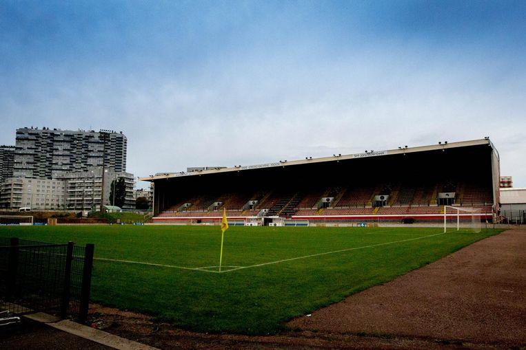 Het Edmond Machtensstadion in Molenbeek. RWDM moet het voorlopig nog altijd delen met White Star Brussel.