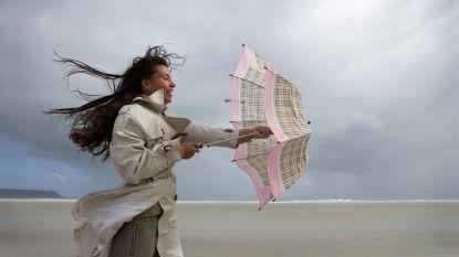 Stormachtig weer met rukwinden tot 90 kilometer per uur verwacht aan de kust: noodnummer 1722 geactiveerd