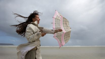 Stormachtig weer voorspeld aan de kust met windstoten tot 90 km/u, volgende week weer kans op sneeuw