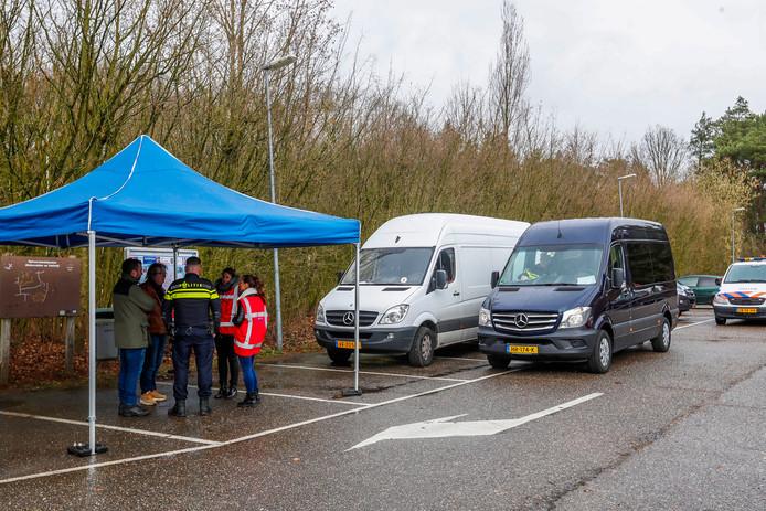 Controle op vakantiepark Molenvelden in Veldhoven maart 2019