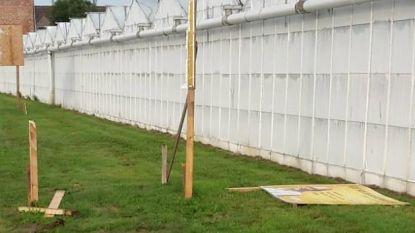 Burgemeester legt klacht neer tegen vandalen