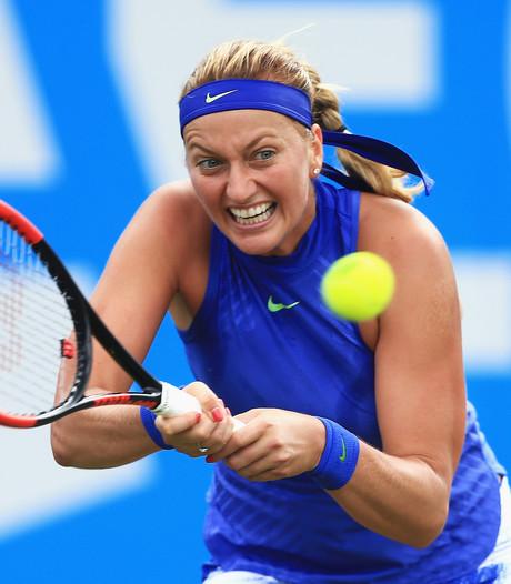 Kvitova meldt zich af voor Eastbourne, nog geen streep door Wimbledon