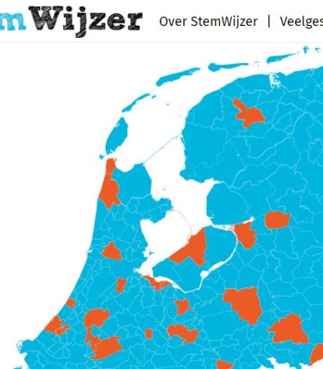 Stemwijzers Kampen, Apeldoorn en Bronckhorst gelanceerd