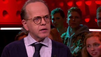 """Marc-Marie Huijbregts krijgt het aan de stok met Nederlandse zanger in talkshow: """"Ik vind jouw columns verschrikkelijk"""""""