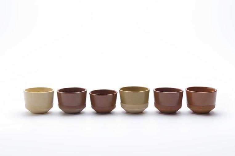De aardewerkcollectie Clay Service Beeld Studio Marten Aukes