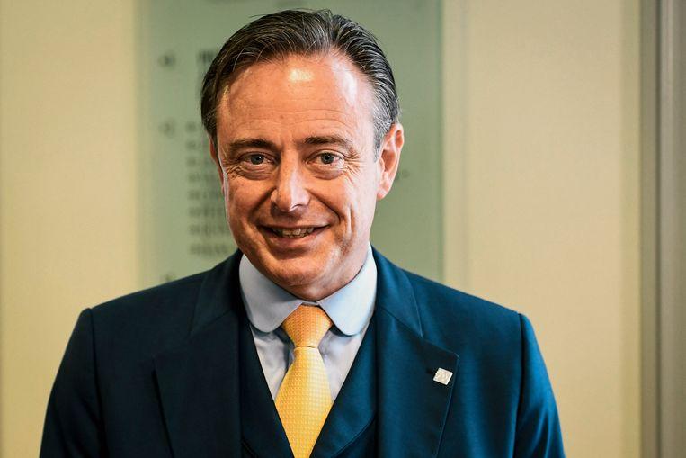 N-VA-voorzitter Bart De Wever.  Beeld null