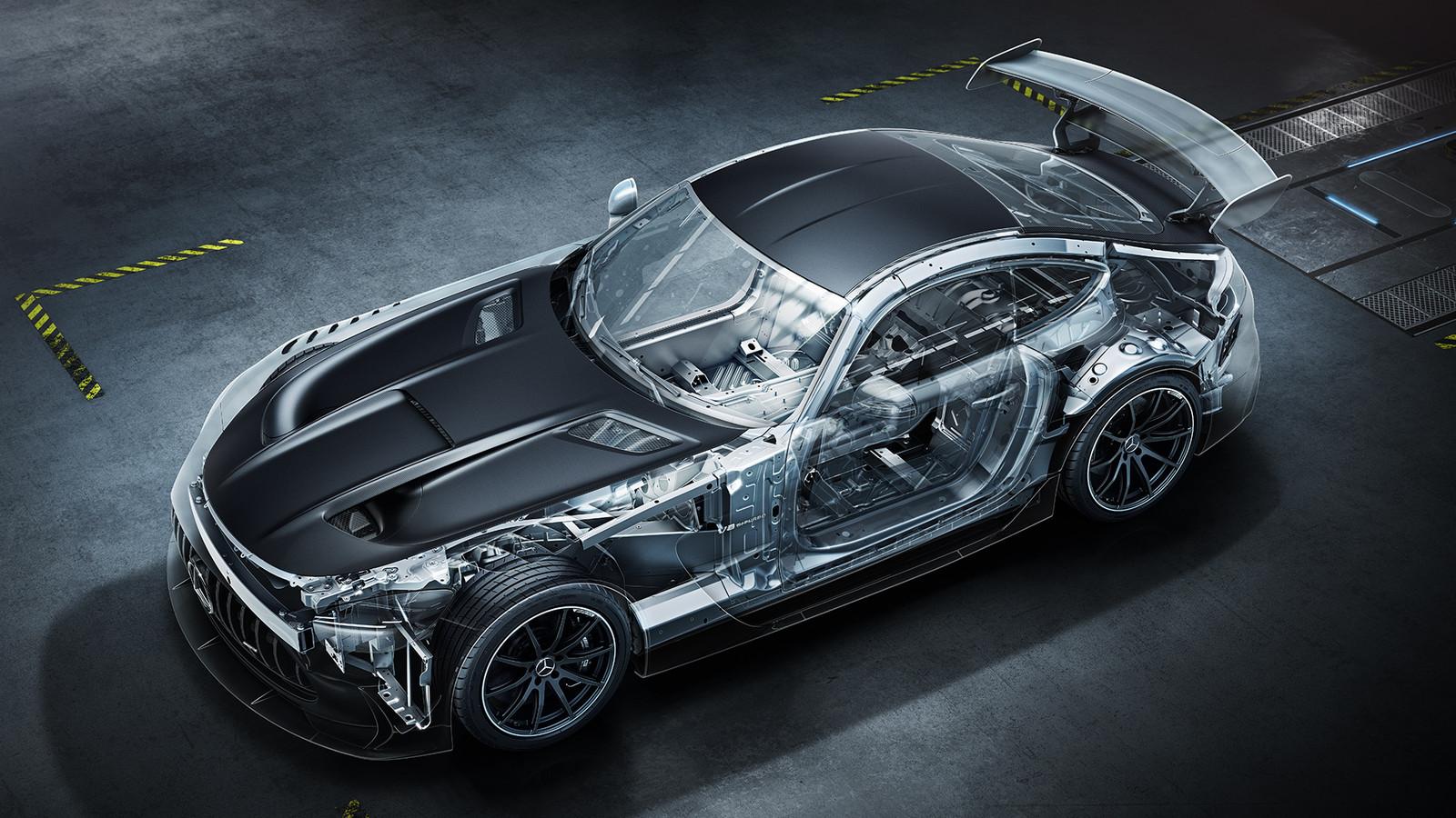De Mercedes-AMG GT Black Series