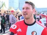 Voetbalfans helemaal klaar voor AZ-Feyenoord