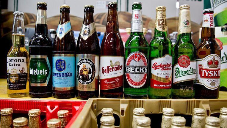 Bieren van AB InBev Beeld anp