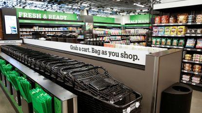 Amazon opent eerste grote supermarkt zonder kassa's in VS