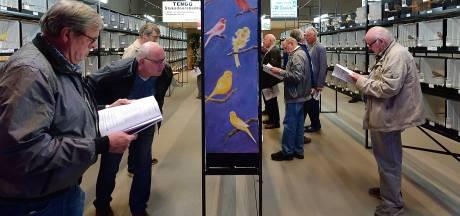 Alleen het neusje van de zalm bij vogeltentoonstelling Rucphen