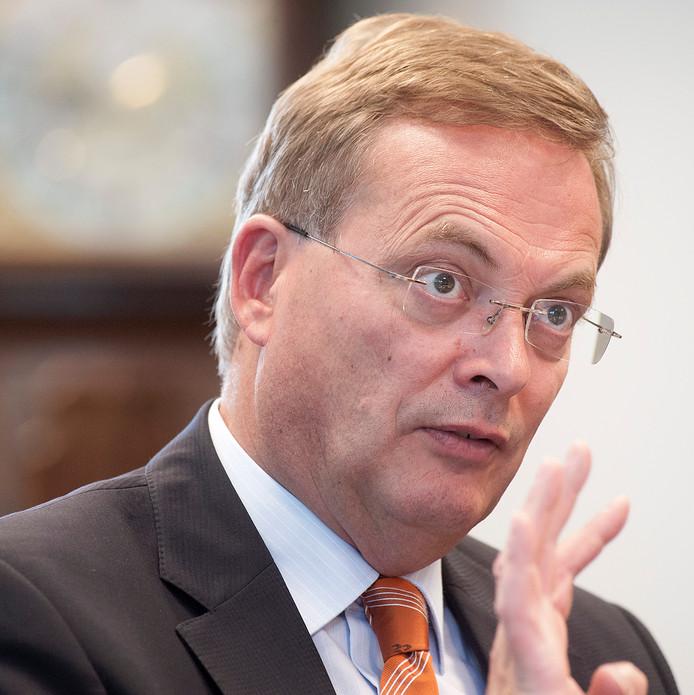Oosterhoutse burgemeester Stefan Huisman. Archieffoto Ron magielse