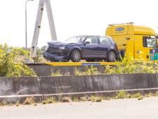 Verkeer A28 ontregeld door verkeersongeval: twee rijstroken dicht