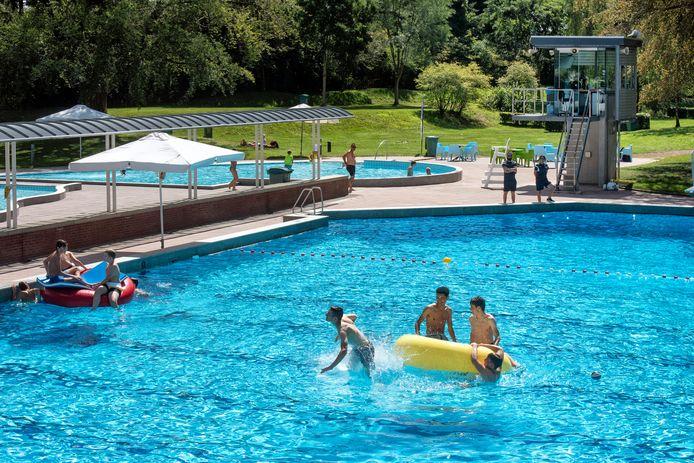 Zwembad Klarenbeek op 4 augustus van dit jaar.