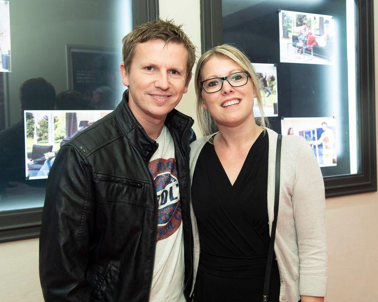 De Buurtpolitie-acteur Tim Ost en zijn vrouw Celien