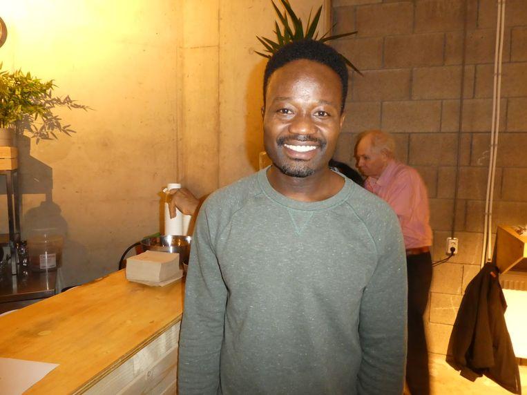 """Jerry Afriyie (Kick Out Zwarte Piet): """"Ik ga me alleen verantwoorden bij de volgende generatie."""" Beeld Hans van der Beek"""