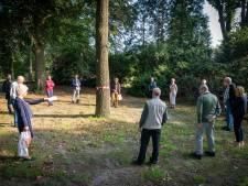 Rheden blijft bij kappen van bomen in park Daalhuizen in Velp, ondanks verzet