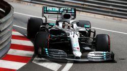 Hamilton ook snelste in tweede vrije oefensessie in Monaco, Verstappen moppert over bolide
