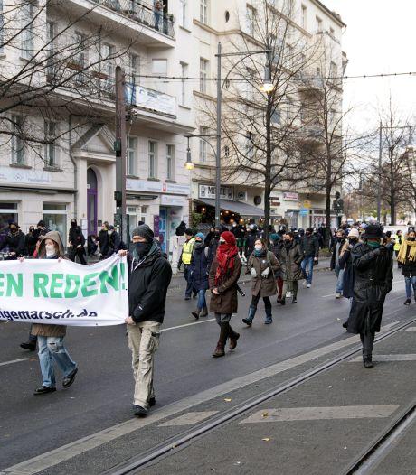 La marche contre les mesures anti-coronavirus à Berlin fait un flop