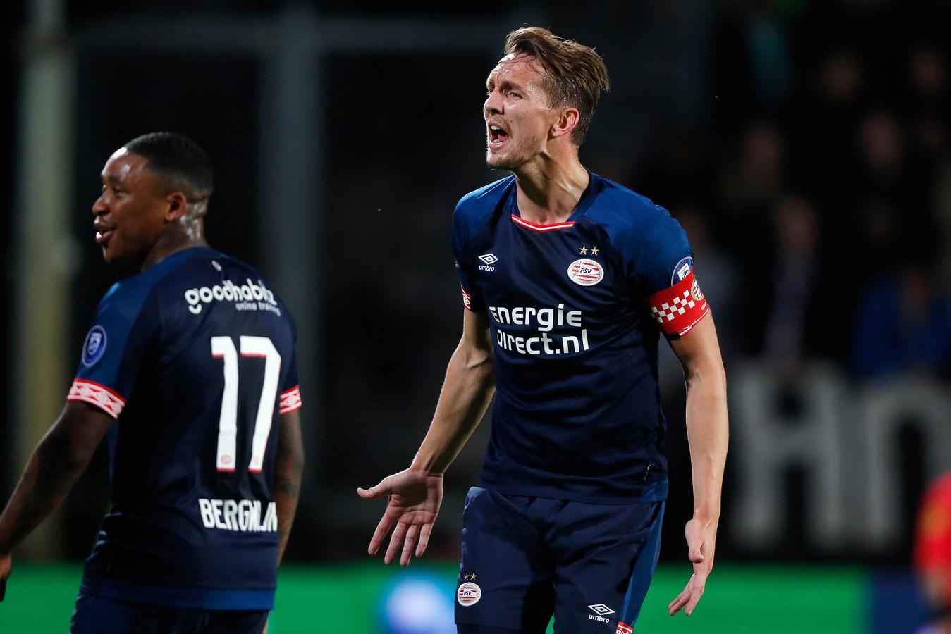 Luuk de Jong als aanvoerder van PSV.