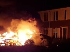 Vier auto's gaan in vlammen op in Culemborg