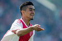 Naci Ünüvar (15) werd de matchwinner namens Ajax onder 17 tegen Tottenham Hotspur.