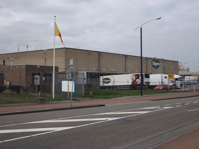 Het distributiecentrum dat Sligro wil vervangen voor een compleet nieuw centrum.
