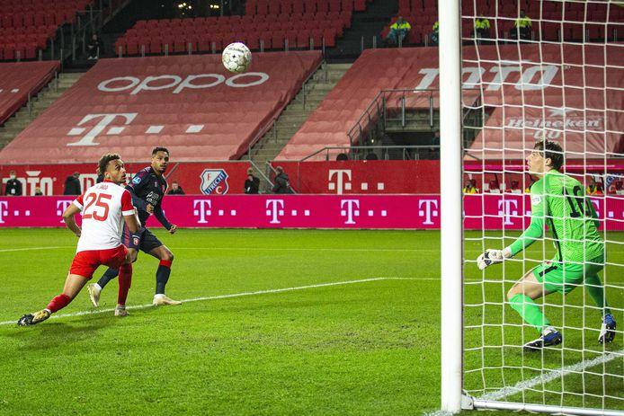 De snelste goal ooit van FC Twente in beeld: Danilo mikt na zestien seconden raak.