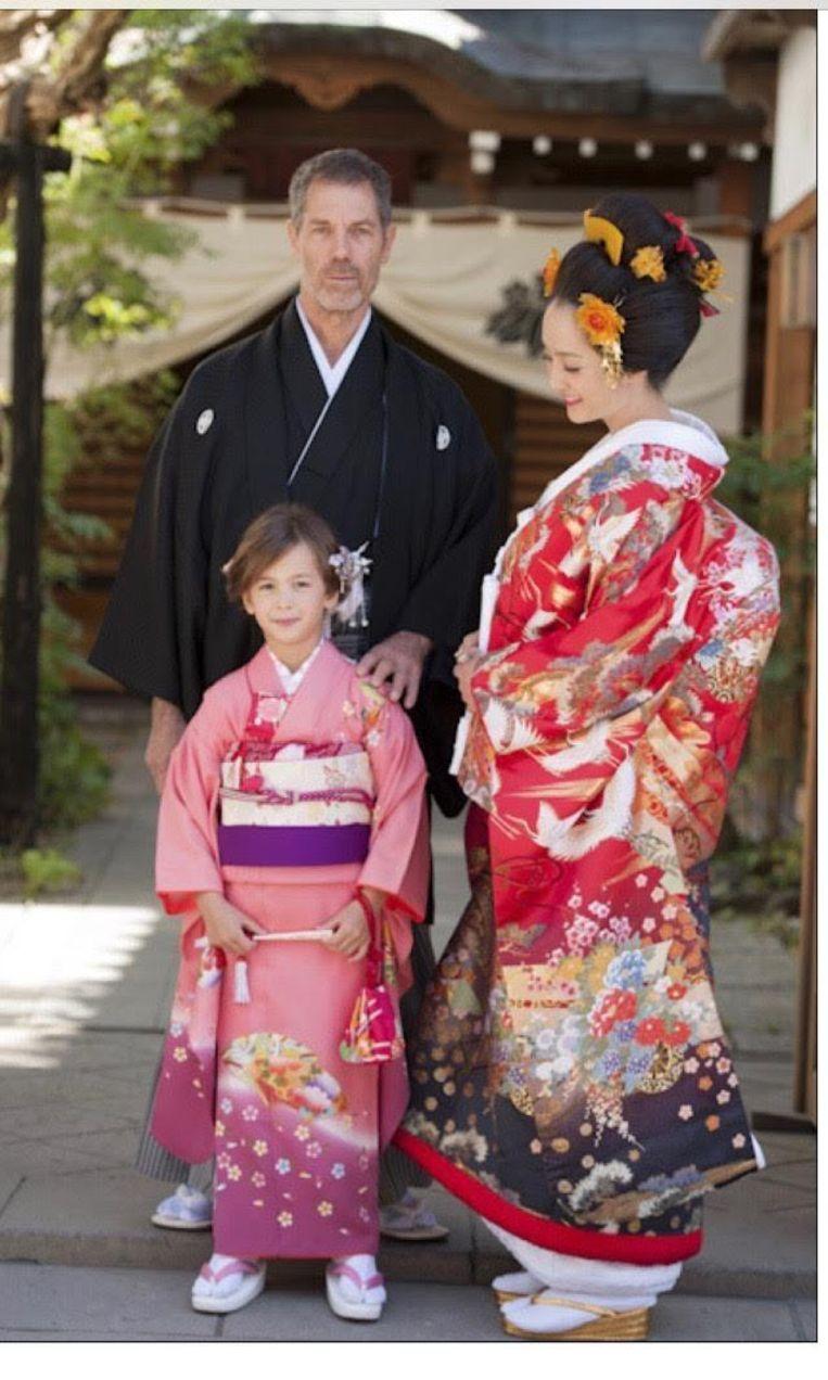 'We zijn in Japan getrouwd. Mijn leven is zo veel beter geworden door haar. Ze is mooi, empathisch, persoonlijk, humoristisch en explosief.' Beeld