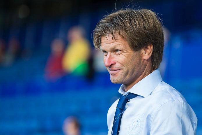 De Graafschap-trainer Jan Vreman.