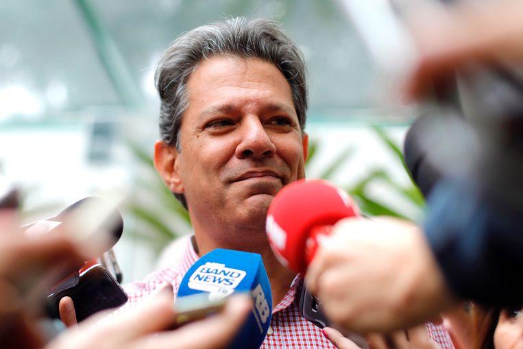 Fernando Haddad. Beeld EPA