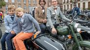 Als een heer in het verkeer: 'Distinguished Gentleman's Ride' vertrekt op Grote Markt