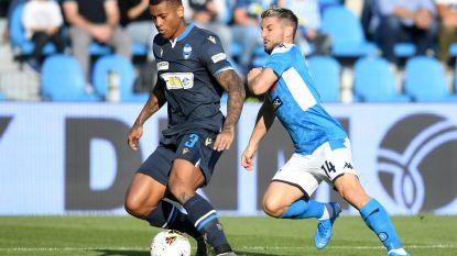 Mertens en Napoli stellen teleur bij SPAL, Castagne en Atalanta halen zwaar uit: 7-1