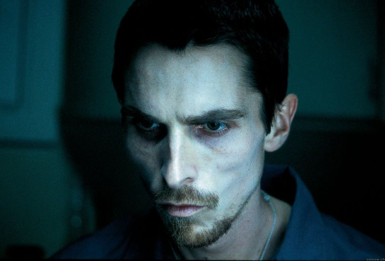 Christian Bale in The Machinist (2004). Beeld