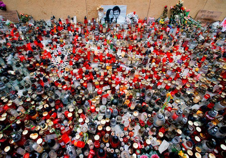 Onderzoeksjournalist Jan Kuciak en zijn verloofde werden in februari 2018 vermoord.