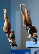 Noemi Batki en Chiara Pellacani.
