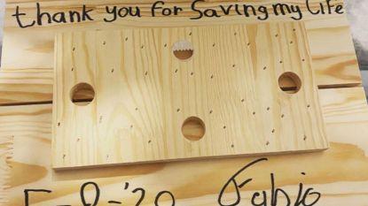 """Jakobsen geeft geschenk aan Sénéchal: """"Bedankt om mijn leven te redden"""""""