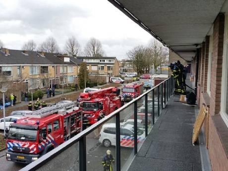 Buren redden dieren bij woningbrand Papendrecht